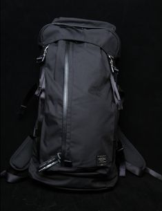 Porter team up with fellow Japanese brand Minotaur for a Fall Winter 2012 Accessory Collection including rucksacks, hunter bags and phone cases. Diy Backpack, Computer Backpack, Leather Backpack, Outdoor Backpacks, Cool Backpacks, Concealed Carry Backpack, Porter Bag, Edc Bag, Trolley Bags