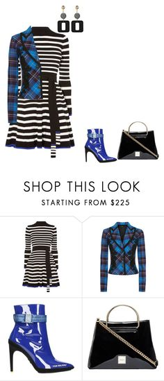 """mix prints"" by cristina-2017 ❤ liked on Polyvore featuring Karen Millen and Off-White"