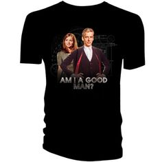 """Doctor Who: Deep Breath Cinema Event T-shirt Commemorate the Season 8 Theatrical event with this T-Shirt. The Twelfth Doctor asks """"Am I a Good Man? Doctor Who Shop, New Doctor Who, 12th Doctor, Twelfth Doctor, Doctor Who Merchandise, Jenna Coleman, Season 8, Geek Gifts, Dr Who"""
