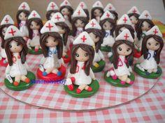 Bomboniere infermiere fimo, by simonahobby, 3,00  su misshobby.com