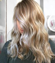 Warm And Cool Toned Blonde Balayage