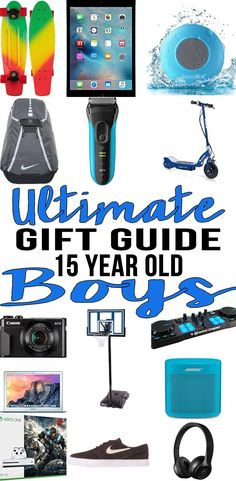 052f809e54df Best Gifts 15 Year Old Boys Actually Want · Cool Gifts For TeensGifts For Teen  BoysChristmas ...