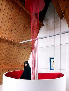 13 - Escada Criativa Blood Vessel Stairs por DMVA Architecten 1