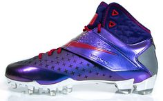 308000e5a964 Nike introduced the Calvin Johnson CJ81 Megatron shoes with a Transformer. Football  Cleats