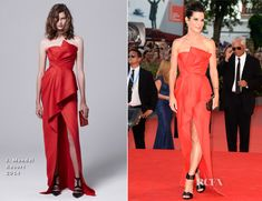 Sandra Bullock In J. Mendel – 'Gravity' Venice Film Festival Premiere. Get the dress for $5,200 at http://www.shopbop.com/strapless-asymmetrical-gown-j-mendel/vp/v=1/1569102320.htm?folderID=2534374302206571&fm=other-shopbysize-viewall&colorId=50525