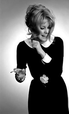 Catherine Deneuve - reason for my life-long obsession with black dresses with white peter pan collars. Which style muse has left an imprint on your wardrobe? Catherine Deneuve, Christian Vadim, Divas, Estilo Glamour, Scarlett, David Bailey, Faye Dunaway, French Actress, Schneider