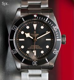 Tudor Black Bay Black 1 /// Founded 170 years ago, GOBBI 1842 is an official retail store for refined jewelleries and luxury watches such as Tudor in Milan. Check the website : Tudor Heritage Black Bay, Tudor Black Bay, Cool Watches, Watches For Men, Wrist Watches, Unique Watches, Popular Watches, Dream Watches, Luxury Watches