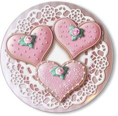 Hand Decorated Christmas Sugar Cookies | ... Hand Decorated Sugar Cookie Favors - $6.50 Each - Minimum 8 Cookies