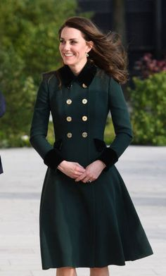Catherine Duchess of Cambridge visits The Elysee Palace on March 17 2017 in Paris France The Duke and Duchess are on a two day tour of France