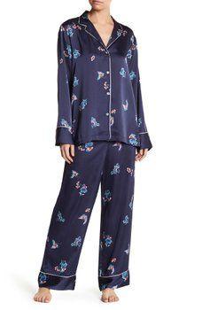 b6f9630fc7 Natori - Floral Print 2-Piece Pajama Set Pajama Set