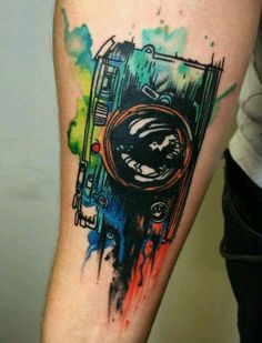 Watercolor Tattoo - Best Designs and Ideas