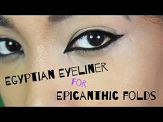 for all my ladies with Epicanthic folds who want to be able to rock inner corner and Egyptian style eyeliner i hope this helps you! Epicanthic Fold, Eyeliner, Make Me Up, How To Make, Interesting Faces, Fashion Sewing, Fashion Pictures, Stay Fit, Sewing Tutorials