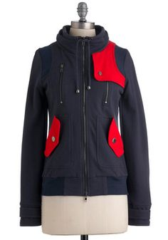 Have I mentioned that I am ready for fall?    Leipzig Hoodie in Navy, #ModCloth