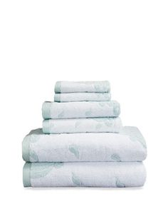 Piazza Di Popolo Towel Set (6 PC) by Luxor Linens at Gilt