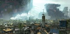 Colony (back ground) by 2buiArt