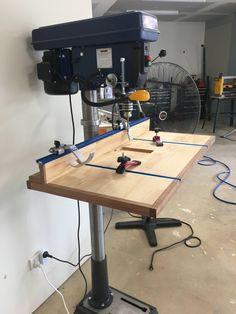 I made a drill press table http://ift.tt/2E9sBzH