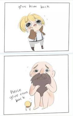 O-Okay whatever you want Armin