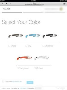 Buy your pair of Google Glass!