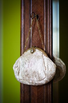 Gold wedding handbag :)