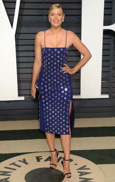 Maria Sharapova #MariaSharapova at Vanity Fair Oscar 2017 Party in Los Angeles