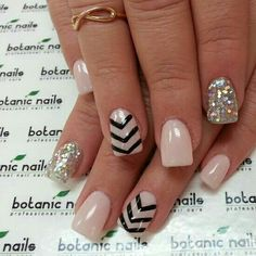 Oooh I love the neutral look with classy sparkle