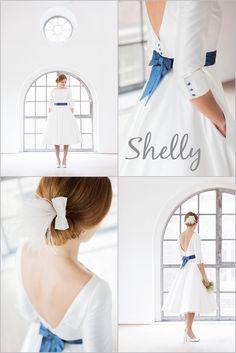 Hochzeitskleid Modell Shelly aus der noni Kollektion 2013