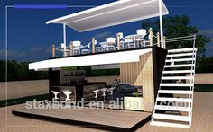 Container Bar, Shipping Containers and Shipping Container . Container Coffee Shop, Container Cabin, Container Home Designs, Container Buildings, Container Architecture, Architecture Design, Shipping Container Cafe, Shipping Containers, Casas Containers