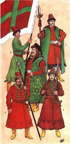 Войны Русского государства XV - XVII в.в. | 488 фотографий
