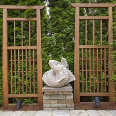 1000 images about trellis design on pinterest trellis for Japanese garden trellis designs