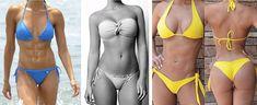 Nyár, bikini és Te szeretnél bombaformába jutni!  Otthoni edzés, 5 gyakorlat, hogy kellő elszántsággal elérd a kívánt alakodat. Bikinis, Swimwear, Training, Health, Fitness, Sports, Inspiration, Color, Fashion