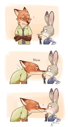 Imagem de zootopia and couple