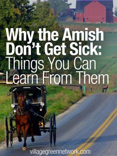 Why the Amish Don't Get Sick: Things You Can Learn From Them