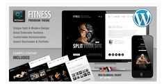 25 Fitness and Sports WordPress Theme