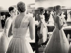 famous candids of audrey hepburn & grace kelly backstage at the oscars ceremony 1956