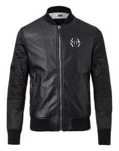 Leather Bomber Gensai