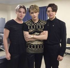 Our Beloved Trio getting ready for 2014 JYJ Japan Dome Tour ~一期一会(Ichigo Ichie)~ Concert in Tokyo ❤️ JYJ Hearts