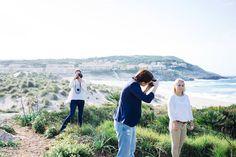 Making Of vom Making Of :D  Dieses Bild entstand in Mallorca. Tolle Woche super liebe Leute und sehr coole Location ;)   Danke Frameblending für dieses coole Foto! :) by kacy - makeup & photo