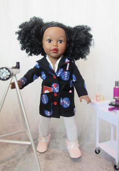 Lab Technician Themed Doll The Scientist Girl Doll Pattern