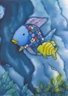 rainbow fish poster - Google Search