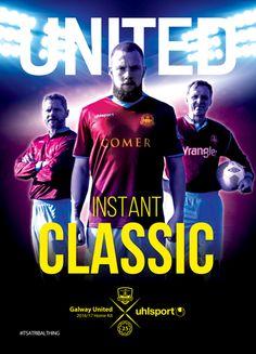 Camisas Uhlsport  do Galway United FC para 2016
