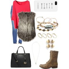 A fashion look from December 2014 featuring Diesel vests, True Religion jeans and Charlotte Russe ankle booties. Browse and shop related looks.