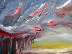 quadri Thérèsè,dipinto a olio,pittura a olio,alberi, dipinto, quadro, arte, moderno, design, pittura, tela, stile, impressionista, di MarieTheresArt su Etsy