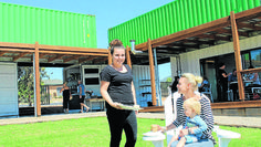 The newest addition to the Mudgee skyline, the High Cube Café constructed from shipping containers on Lions Drive, is now open.