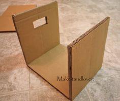 Quarto Craft, Parte 1 (caixas de armazenamento de papelão coberta) | Make It e Love It