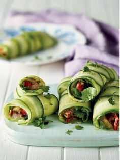 Light And Tasty Cucumber Beef Rolls