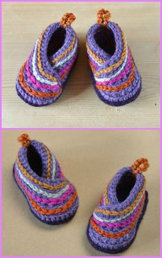 Crochet Baby Booties Crochet Baby Kimono Slipper Booties Pattern - Crochet Baby Kimono Slipper Booties Pattern: Crochet Kimono Shoes for babies and adults with one free pattern available Baby Booties Knitting Pattern, Baby Shoes Pattern, Crochet Baby Shoes, Crochet For Boys, Crochet Baby Booties, Baby Knitting, Baby Boy Booties, Crochet Baby Blanket Beginner, Baby Kimono
