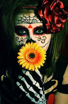 dios de los muertos...makeup