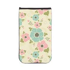 "Nostalgic flowers Kindle Sleeve Beige seamless vintage pattern ""Nostalgic flowers""  $33.79"