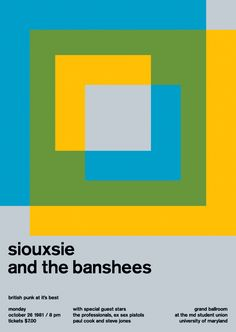 siouxsie and the banshees, 1981 - swissted