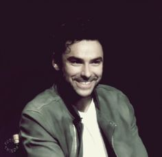 your daily Aidan Turner FACE brought to you by .. IT'S JUST HIS FACE!!